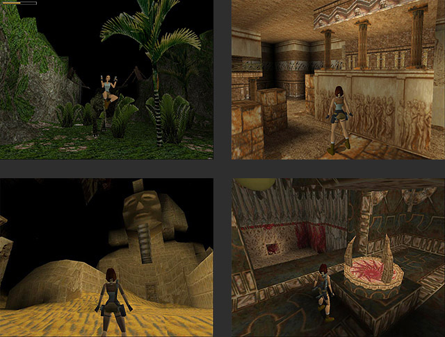 tomb raider game 1996 walkthrough