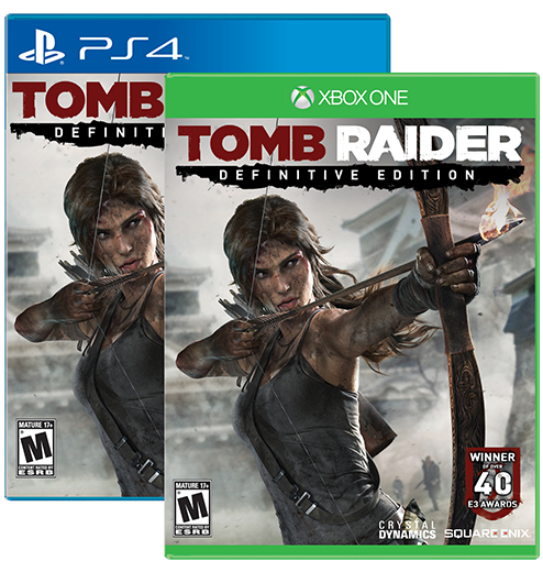 Tomb Raider Definitive Edition For Xbox One And Ps4 4k Hd: Stella's Tomb Raider Blog: Tomb Raider: Definitive Edition