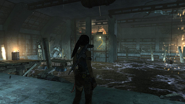 Tomb Raider Shipwreck Beach Flooded Vault Challenge Tomb